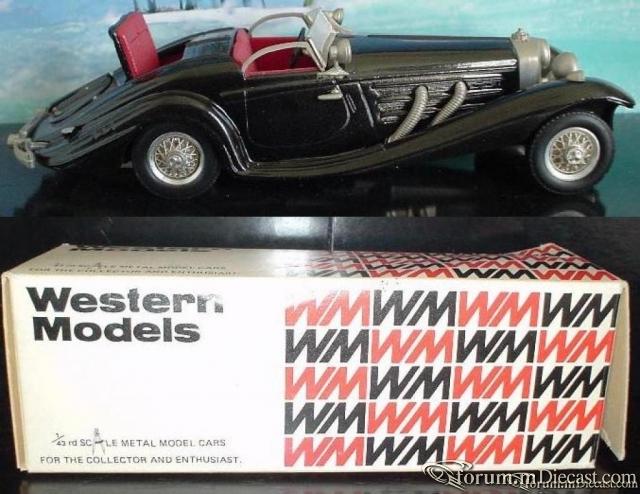 Mercedes-Benz W 29 540K Western Models