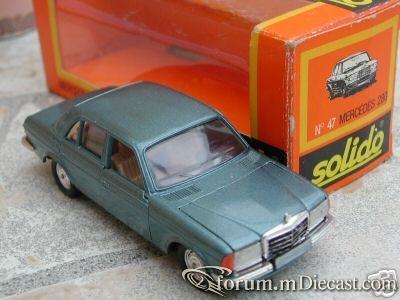 Mercedes-Benz W123 Sedan 280 Solido