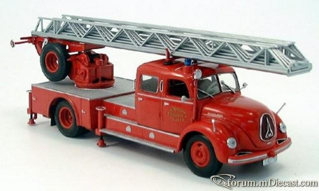 Magirus Deutz S 6500, Feuerwehr Drehleiter DL 30, Zagreb MIN