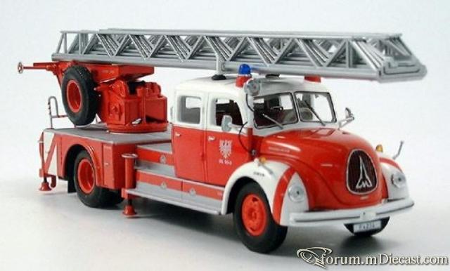 Magirus S 6500, Drehleiter DL 30, Feuerwehr Frankfurt