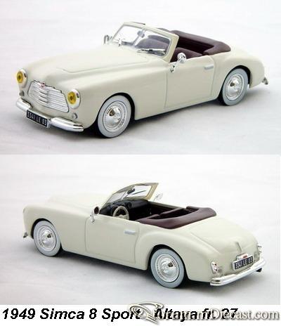 1949 Simca 8 Sport