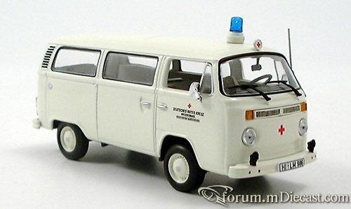 VW T2, Krankenwagen DRK, Bus 1972 MINICHAMPS