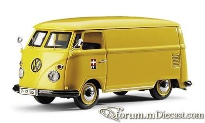 VW T1 Schweizer Post PTT Schuco