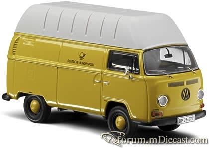 VW T2a Hochraumkastenwagen DBP Schuco