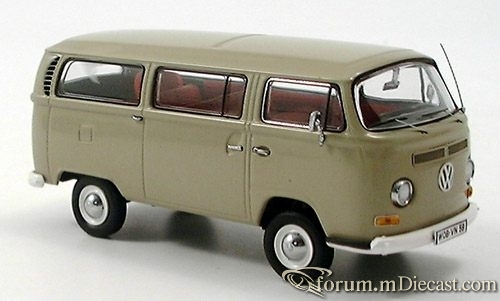 VW Bully T2a, Kleinbus, beige Schuco