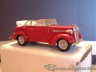 Opel Super 6 Cabriolet 1938  Tin Wizard