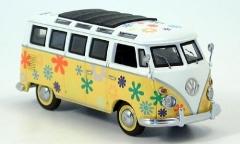 VW T1\VW Bully T1 Samba, Flower Power  Schuco