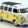 VW T1\VW Bully T1 Samba, Flower Power  Schuco