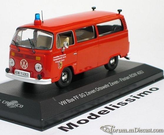 VW Bus T2 Feuerwehr Zeven Florian ROW 4063 IXO