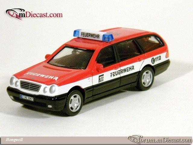 Mercedes-Benz W210 T-Model 300 Feuerwehr Cararama