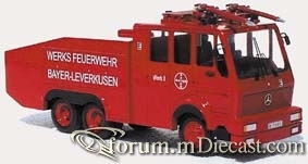 Mercedes-Benz WAWE 9000 Werkfeuerwehr Bayer Leverkusen Budig