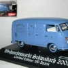 VW Kastenwagen T1  limitiert Weihnacht 2005 Schuco