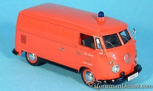 VW Bully T1 Feuerwehr Rastatt schuco