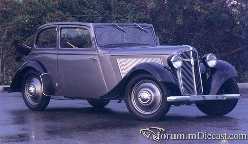 1936 ADLER-TRUMPH JR