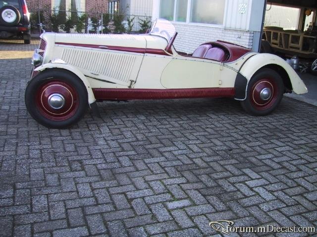 1934 Adler Trumpf junior Sport
