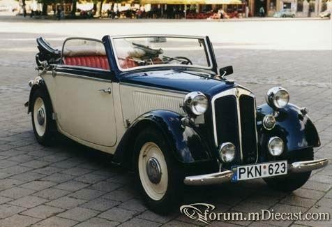 1938 DKW F8 (cabrio)