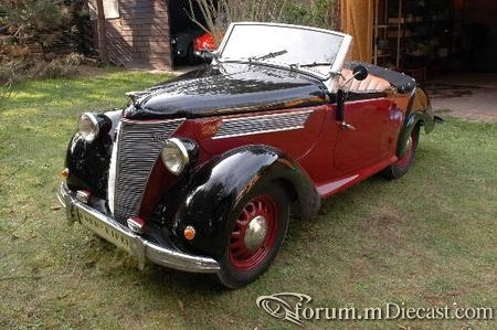 1938 Ford (D) - Eifel Roadster (Karmann)