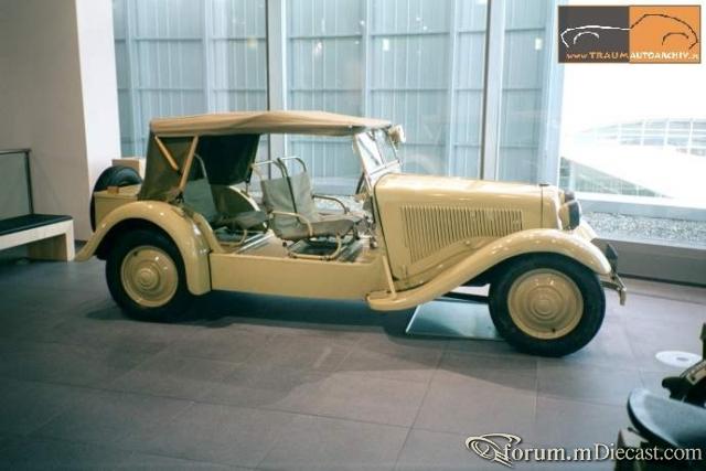 1939 DKW F8 - 700 Reichswehr
