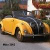 1938 Adler 2,5 Cabrio