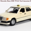 Mercedes-Benz W124 Sedan 1990 250D Taxi Minichamps