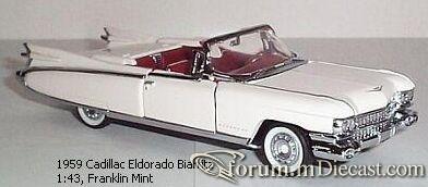 Cadillac Eldorado 1959 Biarritz Franklin Mint.jpg