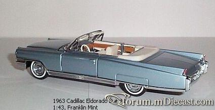 Cadillac Eldorado 1963 Biarritz Franklin Mint.jpg