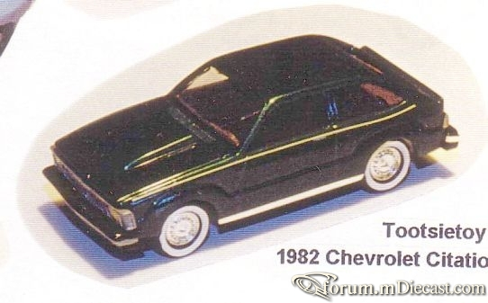 Chevrolet Citation 1982 Tootsietoy-C.jpg