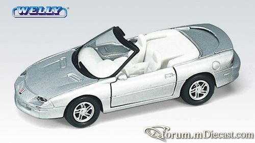 Chevrolet Camaro 1993 Cabrio Welly.jpg