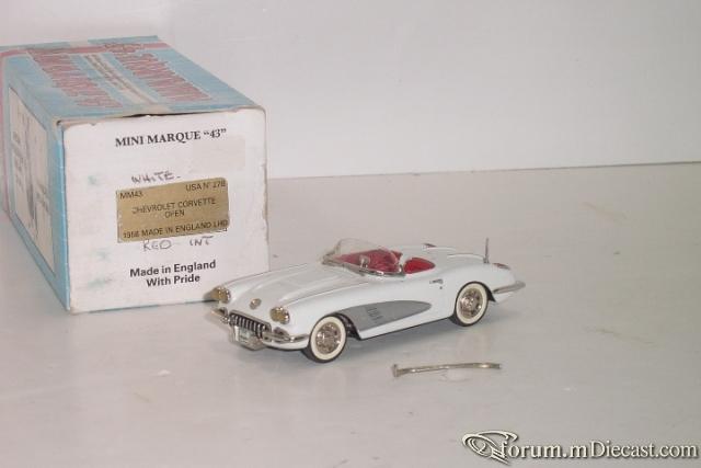 Chevrolet Corvette 1958 Cabrio Minimarque43.jpg