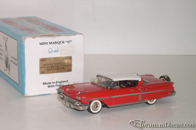 Chevrolet Impala 1958 Sports Coupe Minimarque43.jpg