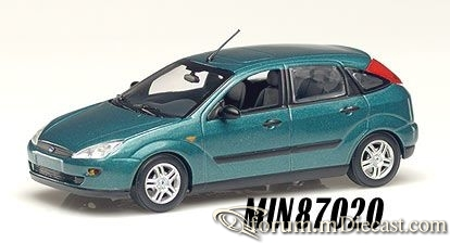 Ford Focus Mk.I 5d 1998 Minichamps.jpg
