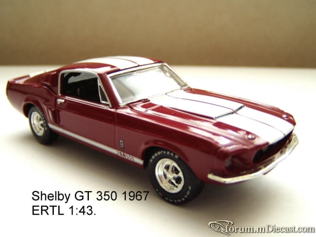 Ford Mustang 1967 Shelby GT350 ERTL.jpg
