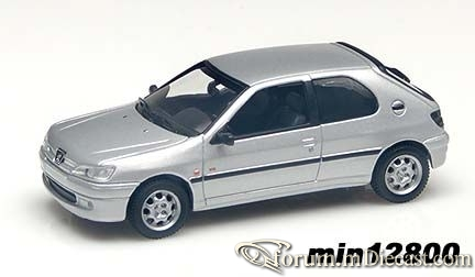 Peugeot 306 3d 1995 Minichamps.jpg