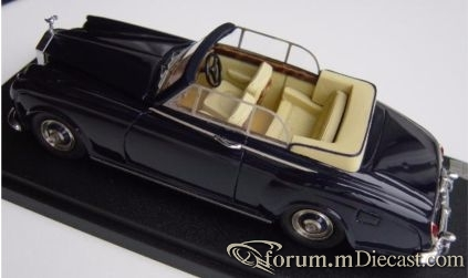 Rolls-Royce Silver Cloud I Cabrio James Young FYP
