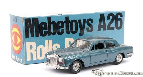 Rolls-Royce Silver Shadow 2d Mebetoys