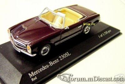 Mercedes-Benz W113 SL Cabrio 1965 Minichamps.jpg