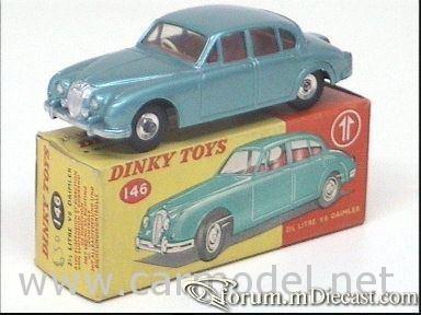 Daimler 2.5 V8 1960 Dinky