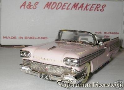 Oldsmobile 98 1958 Cabrio A-S Modelmakers.jpg