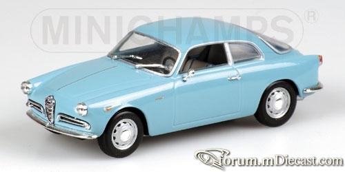 Alfa Romeo Giulietta Sprint 1954 Minichamps.jpg