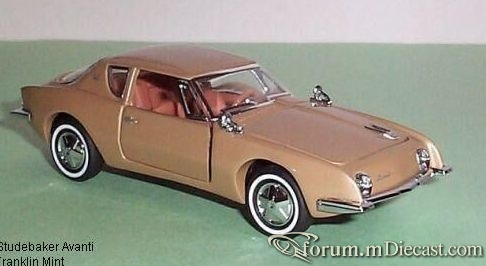 Studebaker Avanti 1963 Franklin Mint.jpg