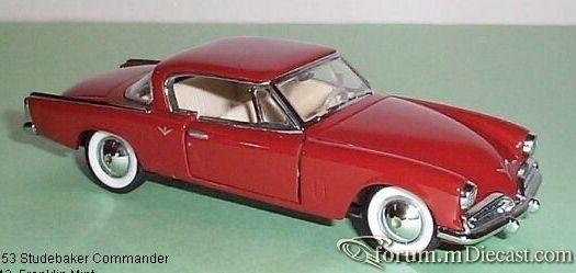 Studebaker Champion Starliner 1953 FranklinMint.jpg