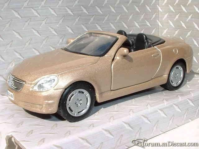 Lexus SC Serie 2 SC430 2001 Maisto