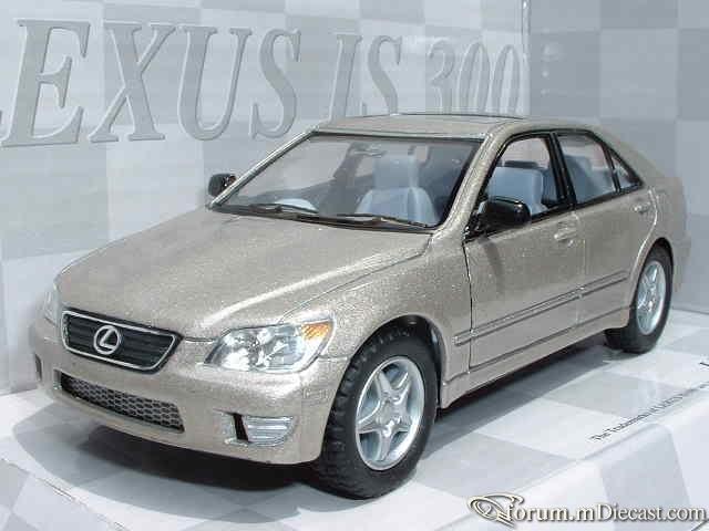 Lexus IS Serie 1 IS300 Kinsmart