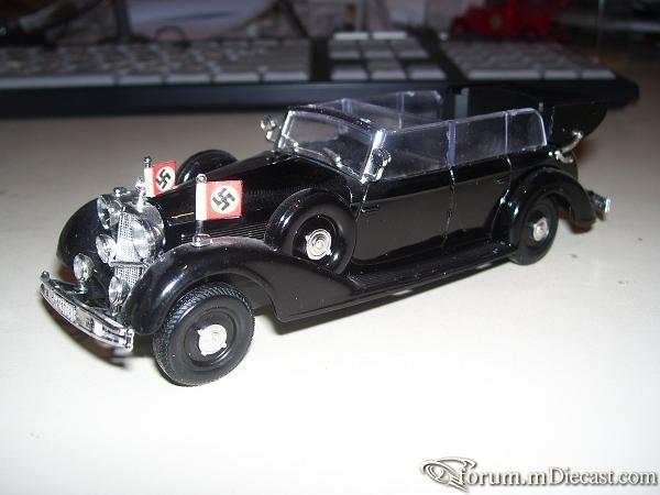 Mercedes-Benz W150 770 Open Cabriolet 1942 Reich RIO
