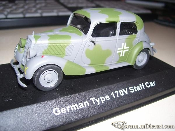 Mercedes-Benz W136 170 V Sedan German Staff Car