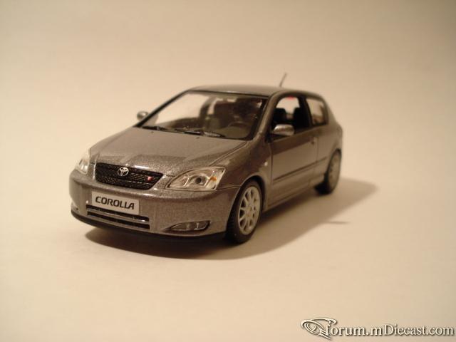 Toyota corolla (runx) Minichamps