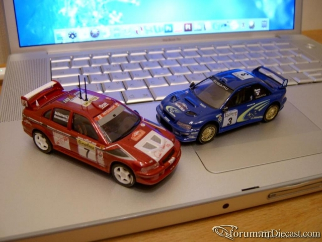 Subaru Impreza WRC'00 & Mitsubishi Lancer 6 TME Hell