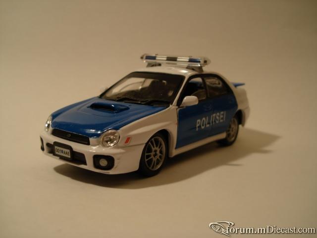 Subaru ImprezaWRX Police Est Hongwel