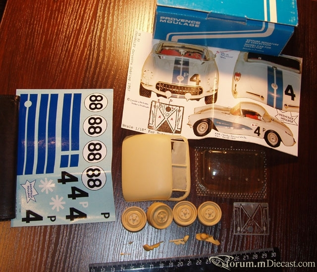 Provence moulage transkit for 1 st gen Corvette Sebring 1957