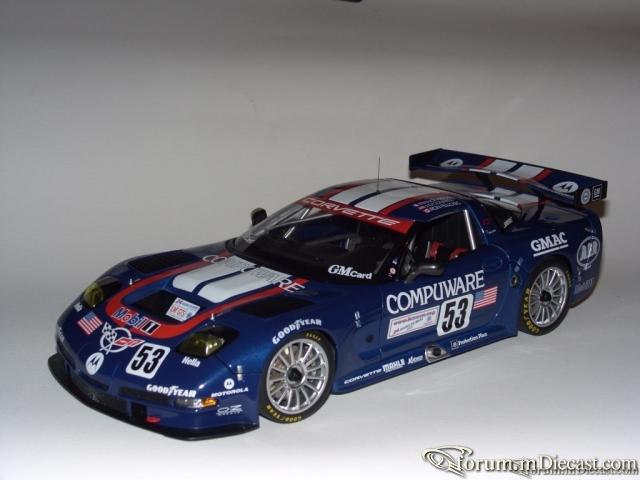 CHEVROLET CORVETTE C5R 2003 24HR LEMANS R.FELLOWS / J.O CONN